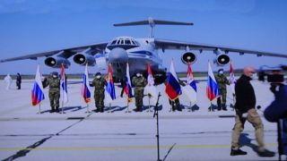 11 IL-76 DONELI LJUBAV I POMOĆ BRATSKE RUSIJE, STIŽE I SRPSKA POMOĆ IZ MOSKVE